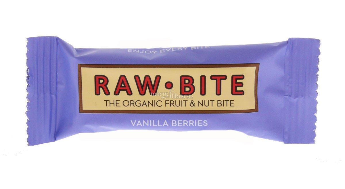 Centro Zohar - Barretta Raw Bite - Vaniglia Frutti Rossi