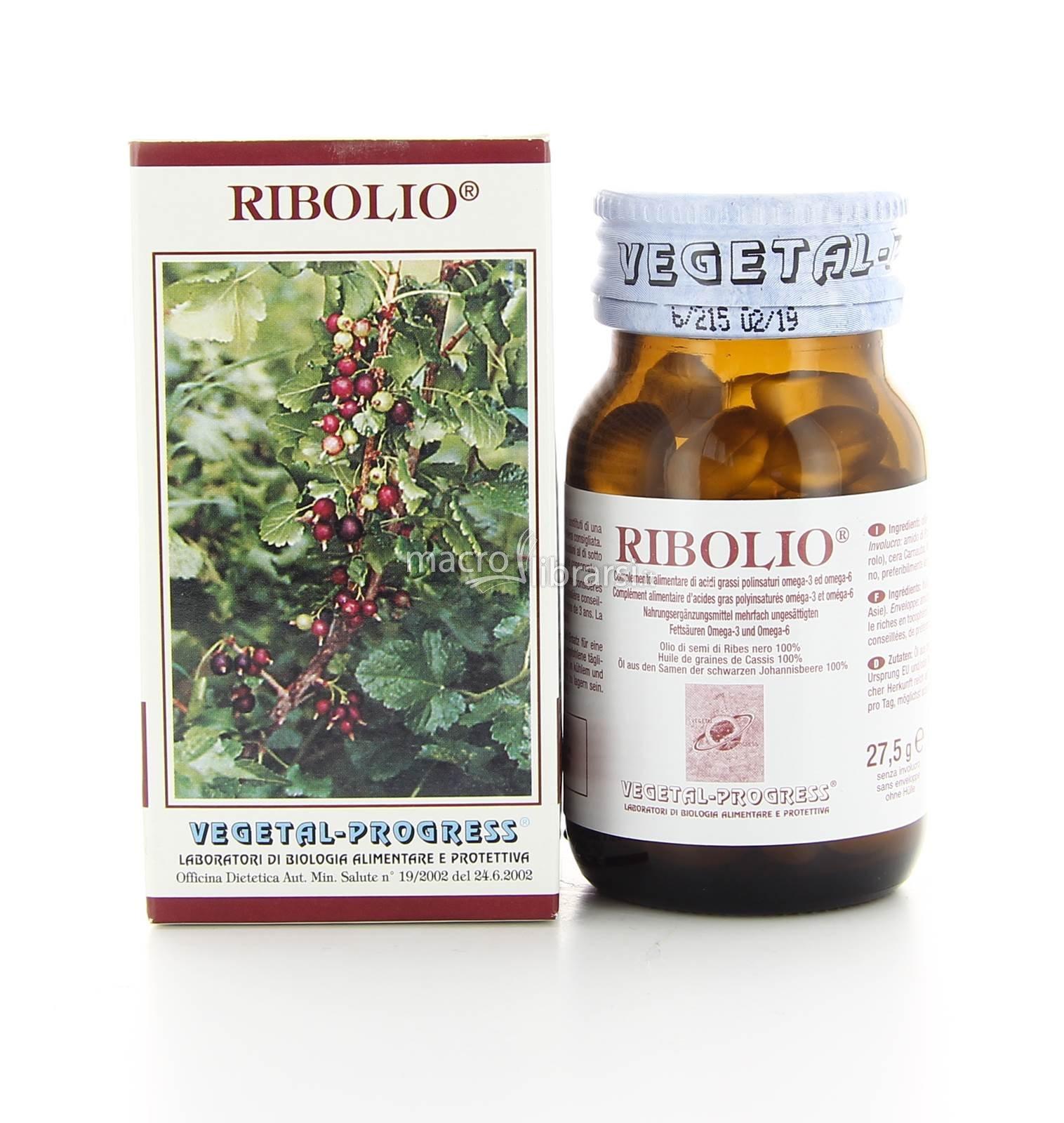 Centro Zohar - Ribolio - Capsule Vegetali ingredienti